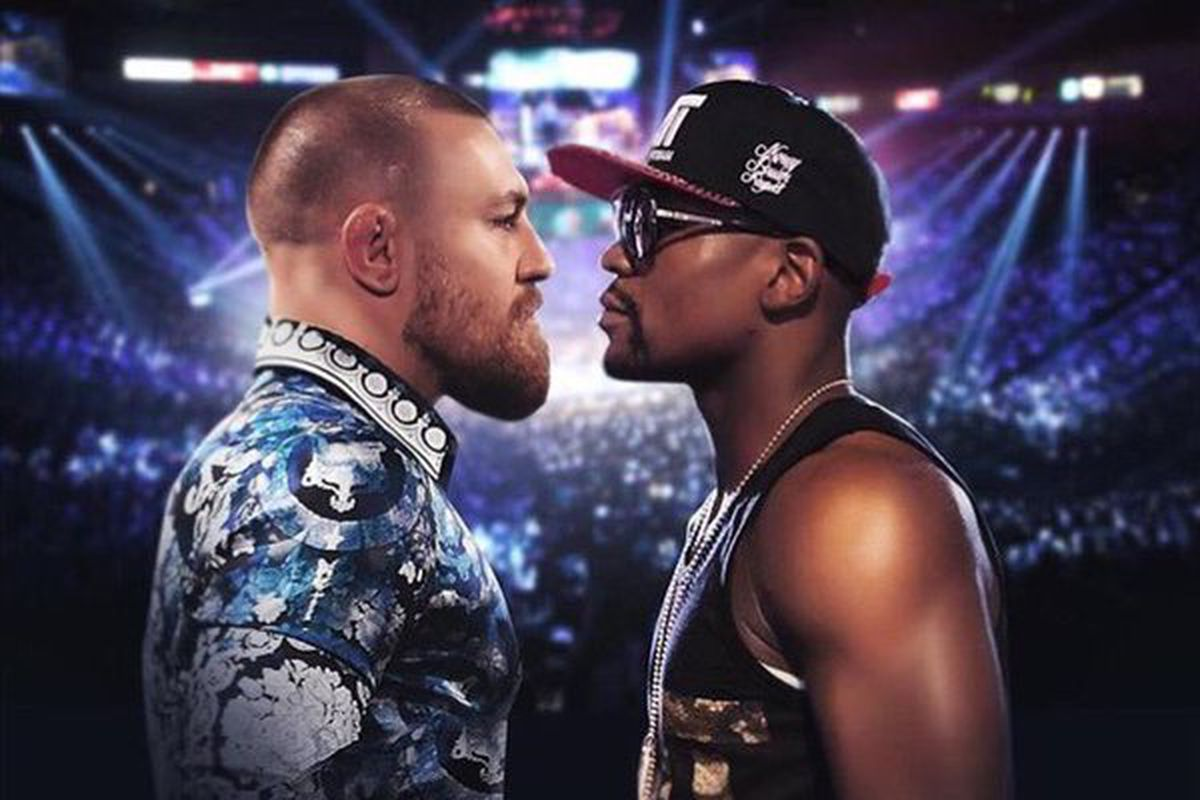 Image result for floyd mayweather & mcgregor