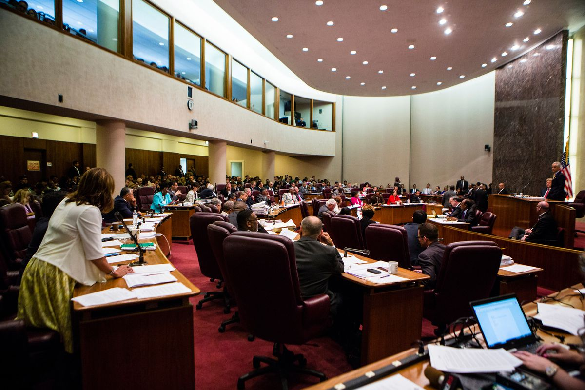 Wednesday's Chicago City Council meeting featured some rare profanity. | James Foster/For the Sun-Times