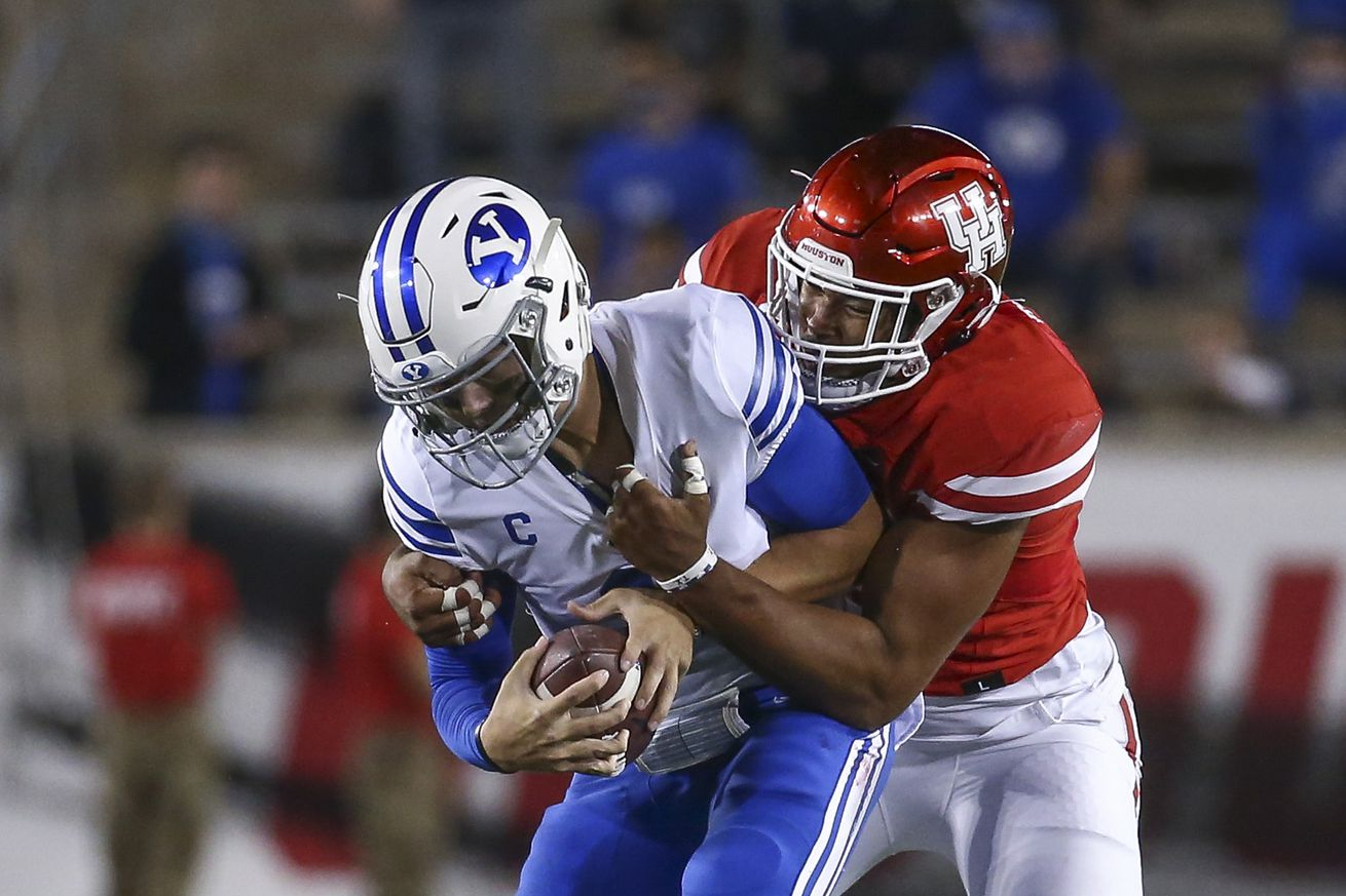 NCAA Football: Brigham Young at Houston