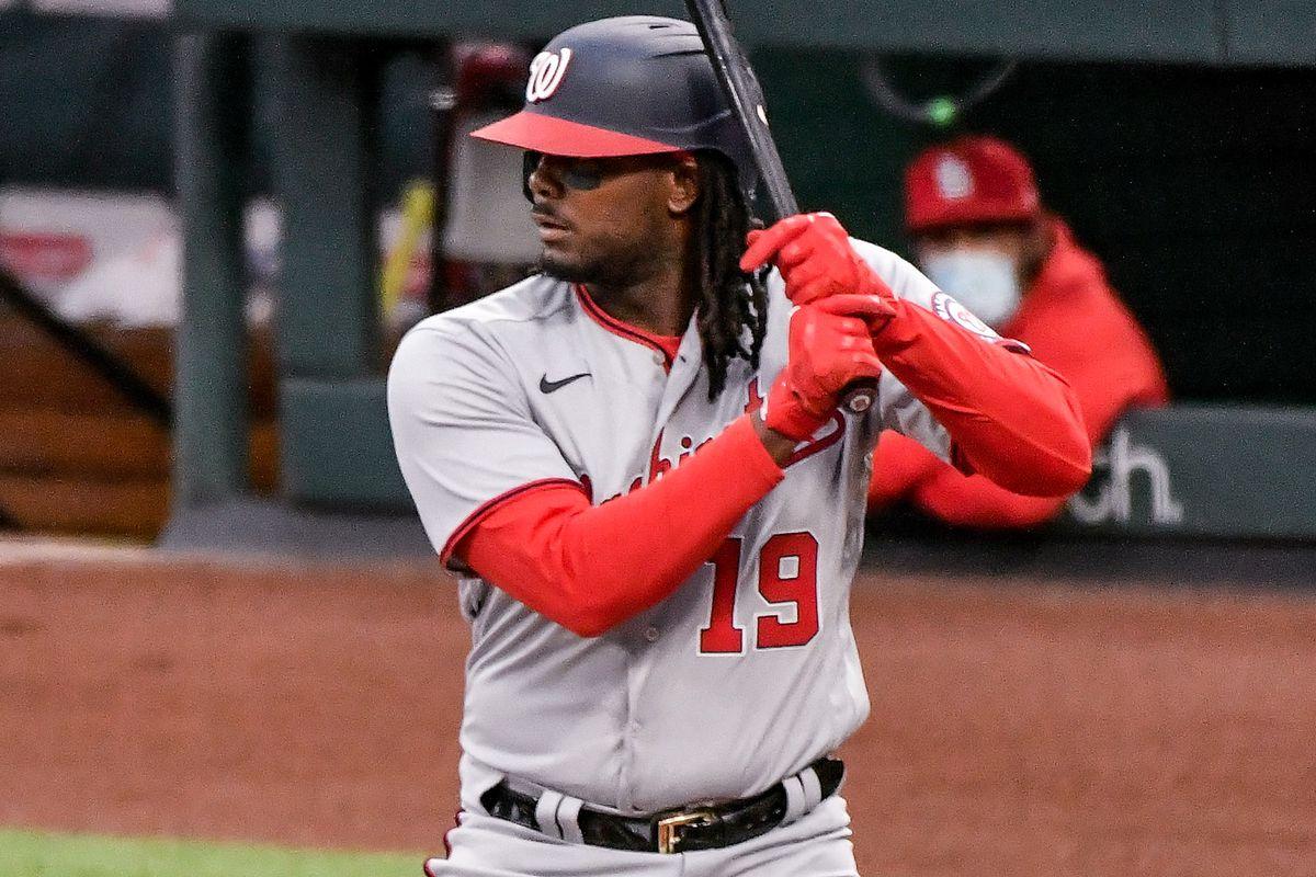 MLB: APR 12 Nationals at Cardinals