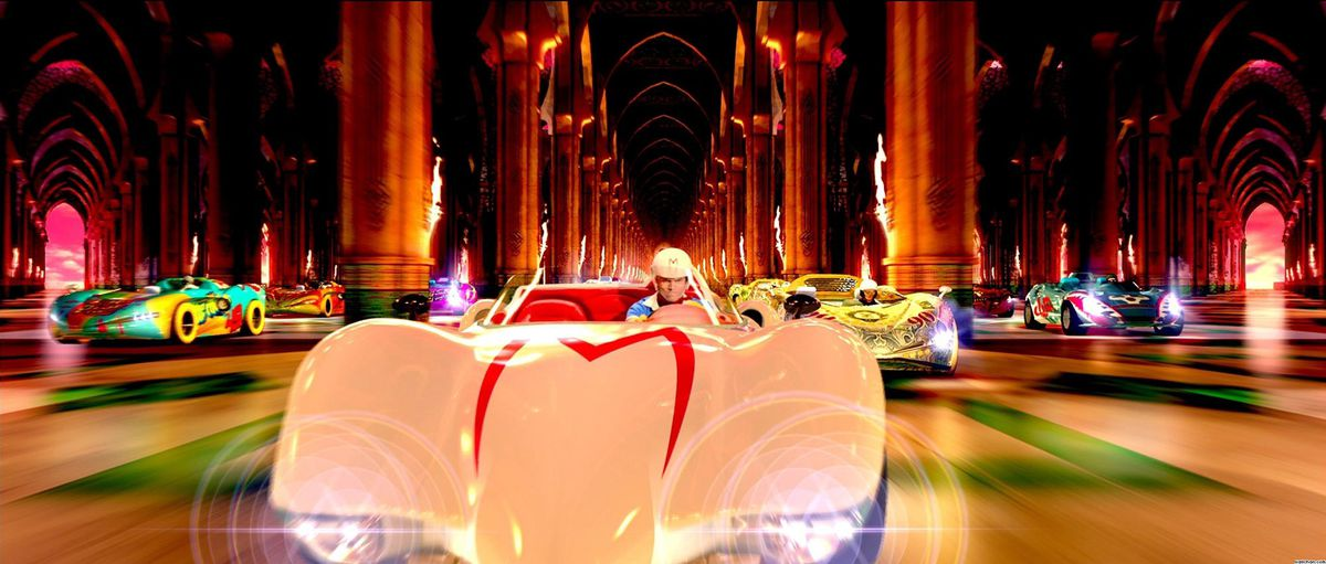 speed racer live-action movie