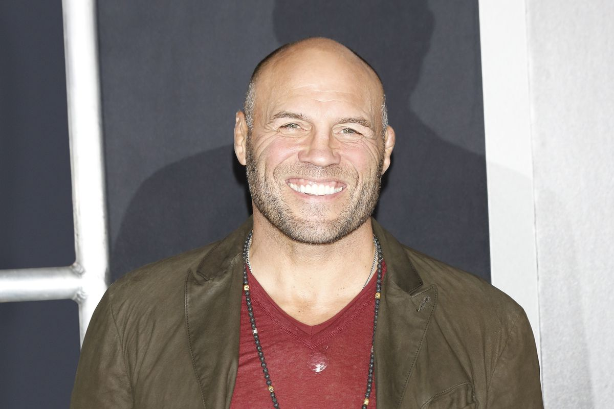 Randy Couture - 'Creed' World Premiere In Los Angeles