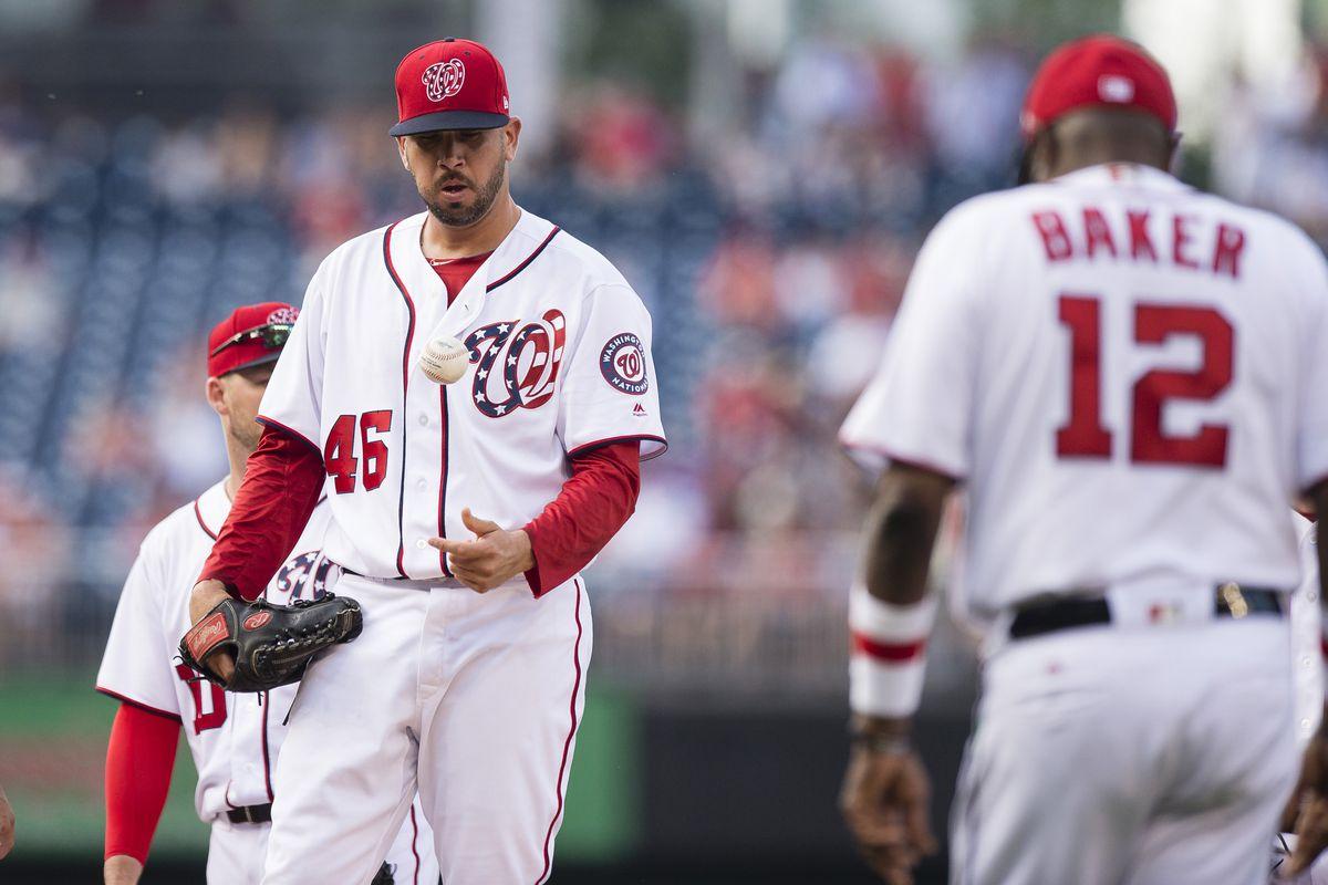 MLB: Texas Rangers at Washington Nationals