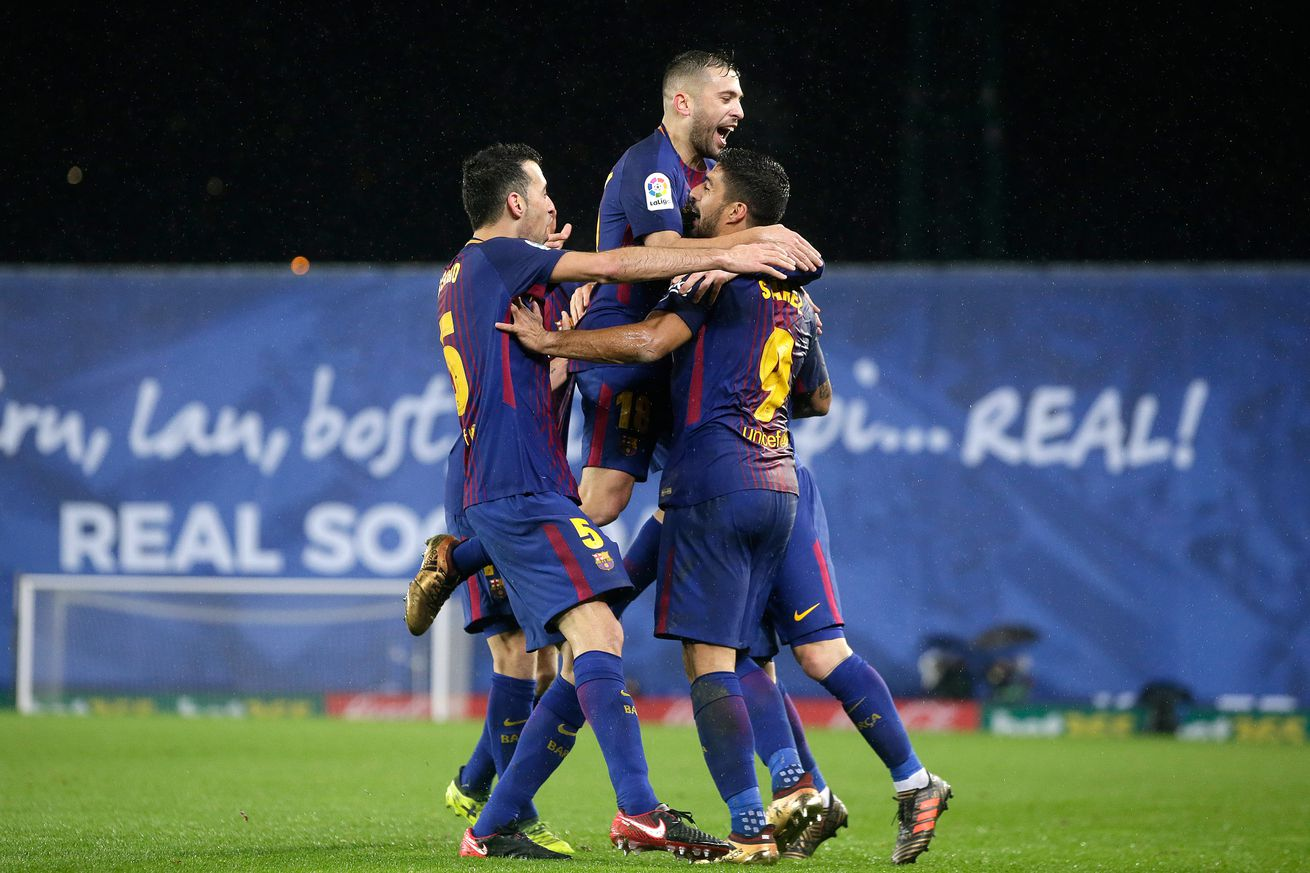 Real Sociedad 2-4 Barcelona, La Liga: Match Review