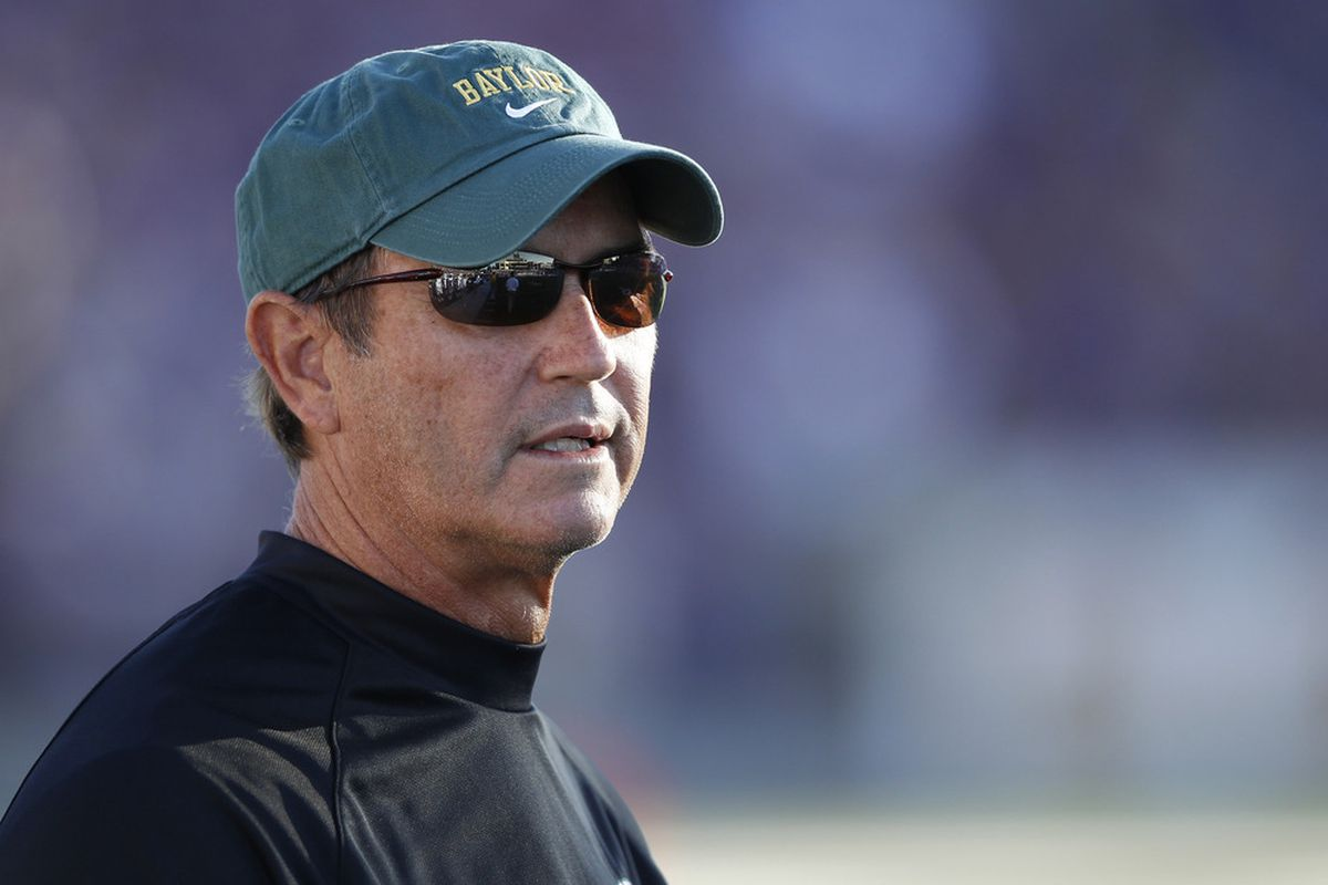 Yes, this pleases the Briles.  It pleases him <em>greatly.</em> (Photo by Joe Robbins/Getty Images)