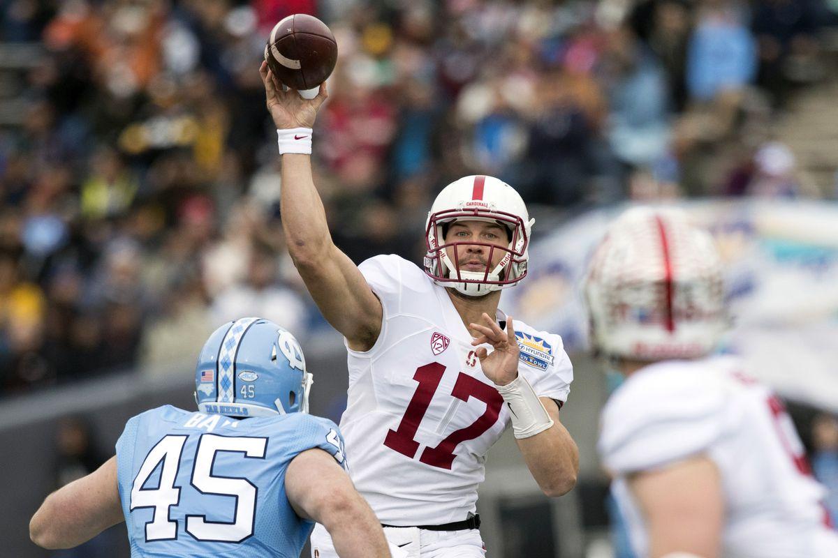 NCAA Football: Sun Bowl-Stanford vs North Carolina