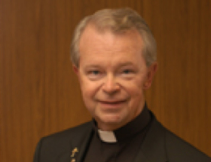 Father Richard McGrath   Screenshot from Catholic Management Services