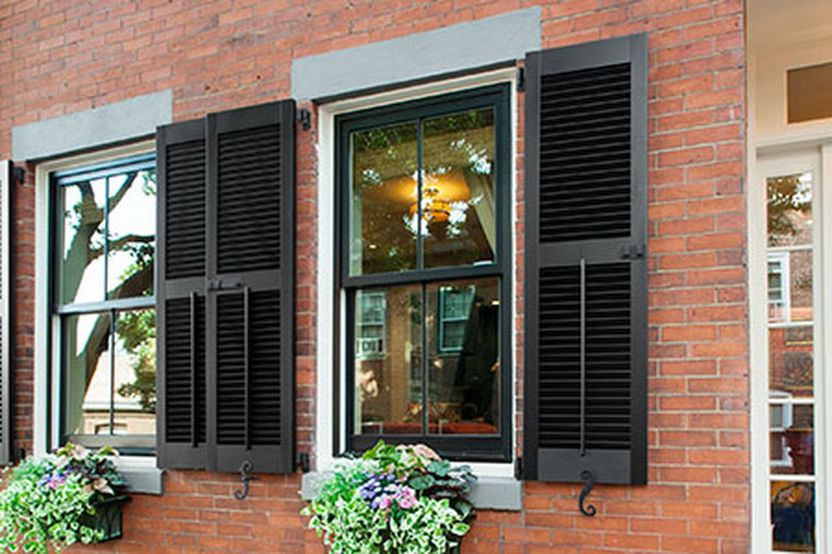 How To Install Shutters On A Brick House This Old