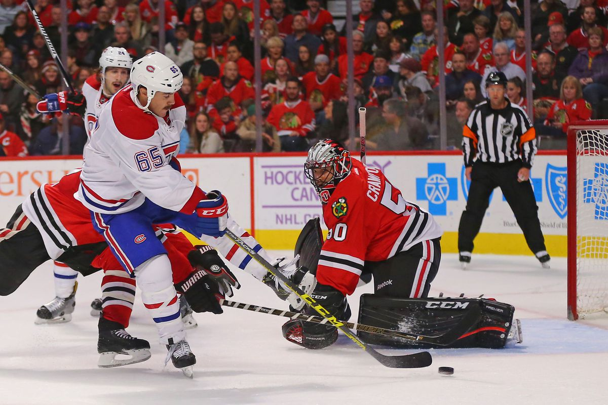 NHL: Montreal Canadiens at Chicago Blackhawks