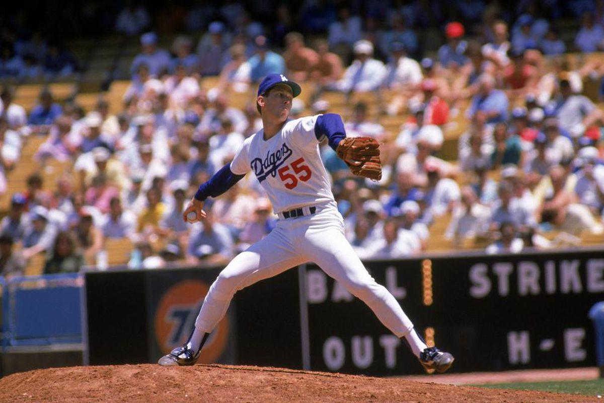 Orel Hershiser 1987 (Bud Symes / Getty Images)