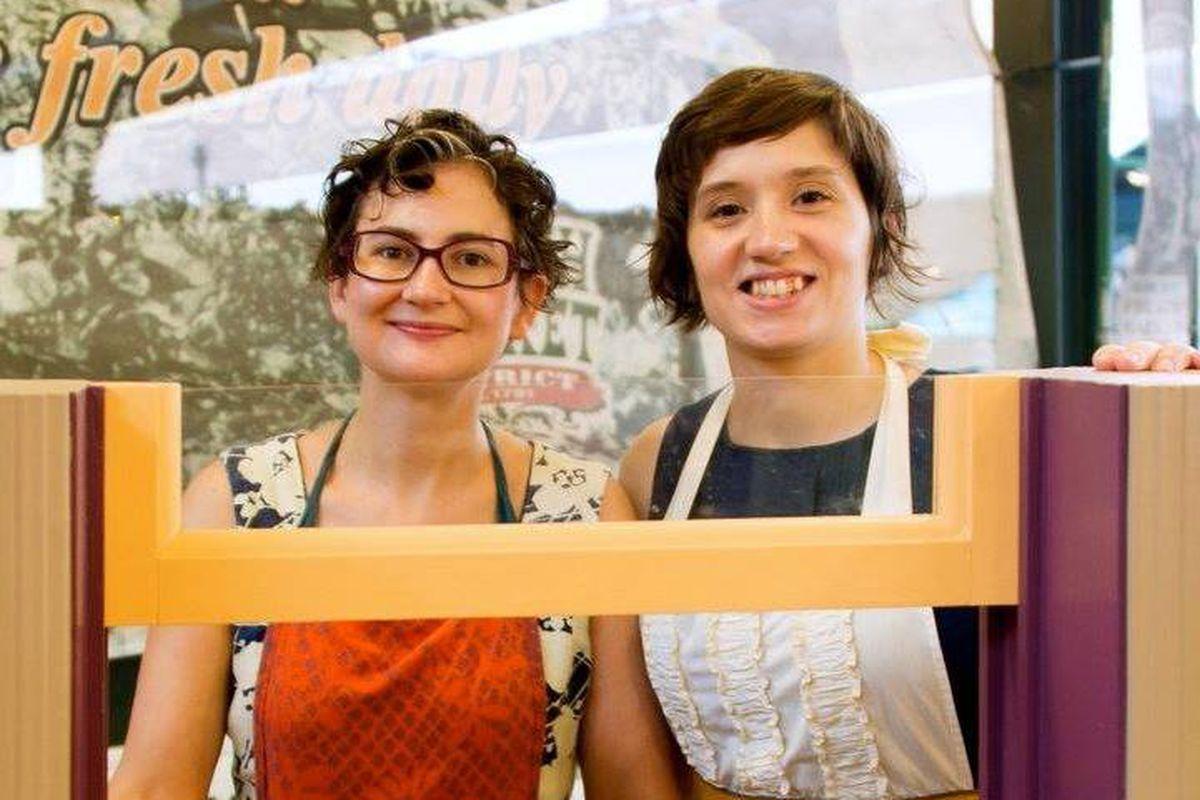 Marielle Dupre and Nicole Eiden of Windowsill Pies