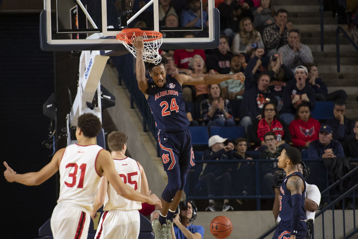 Game Recap Auburn 76 Davidson 66 College And Magnolia