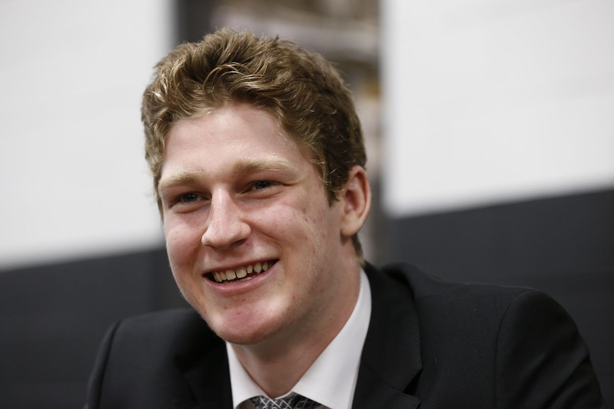 Nathan MacKinnon is selected first overall in SB Nation's mock draft