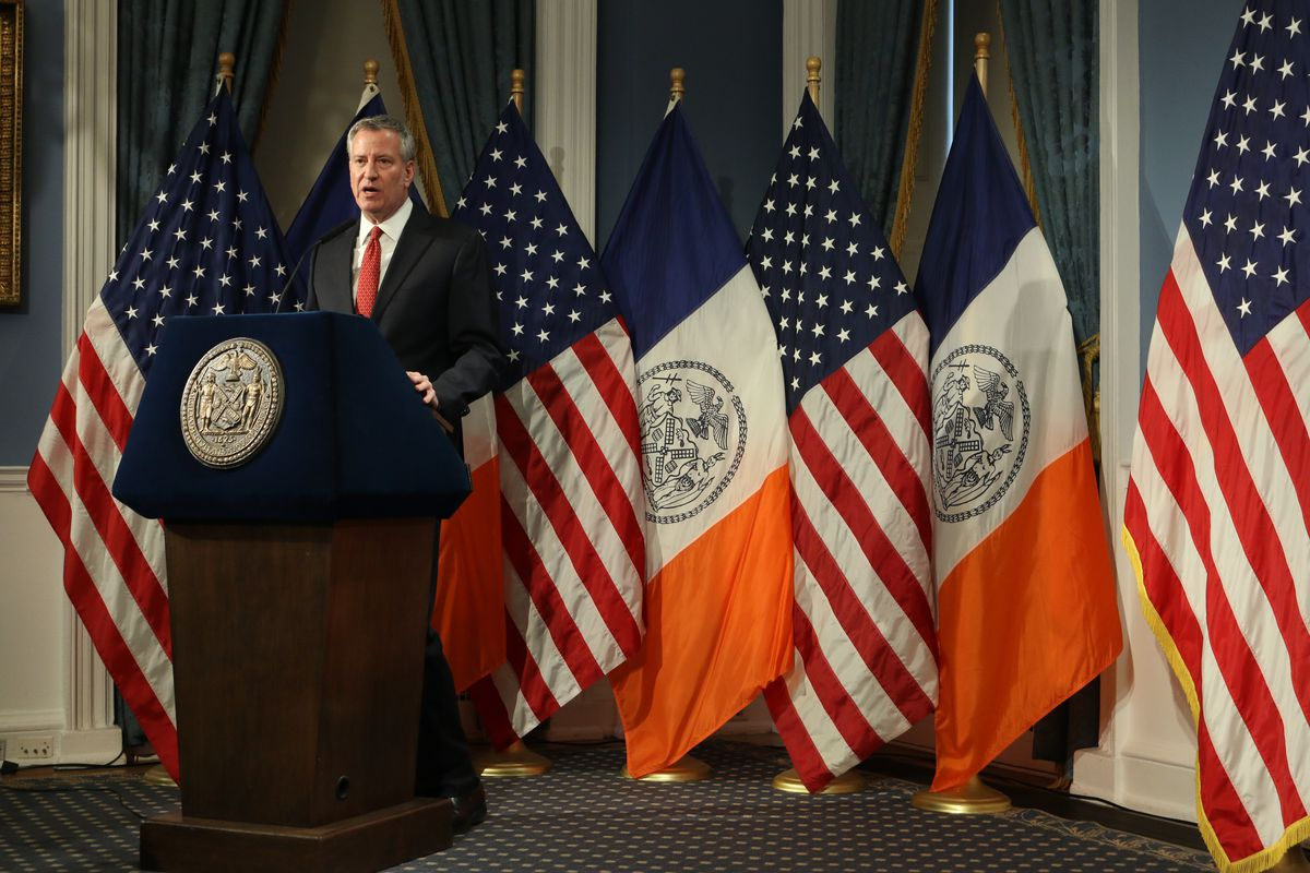 Mayor Bill de Blasio will announce changes to the high school admissions process.