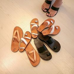 "<a href=""http://instagram.com/p/aCzt1-yq5c/"">@aloharag</a>: ""Jutta Neumann x AR collaboration sandals for men & women."""