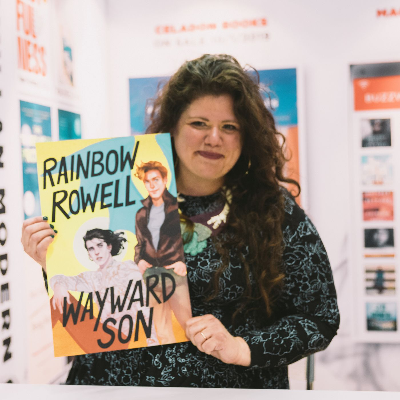 Rainbow Rowell interview: Rowell talks Wayward Son at BookCon - Vox