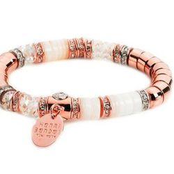 "<a href=""http://www.henribendel.com/SANTORINI-STRETCH-BRACELET/25105853180193,default,pd.html?"">Santorini Stretch Bracelet</a>, $78"