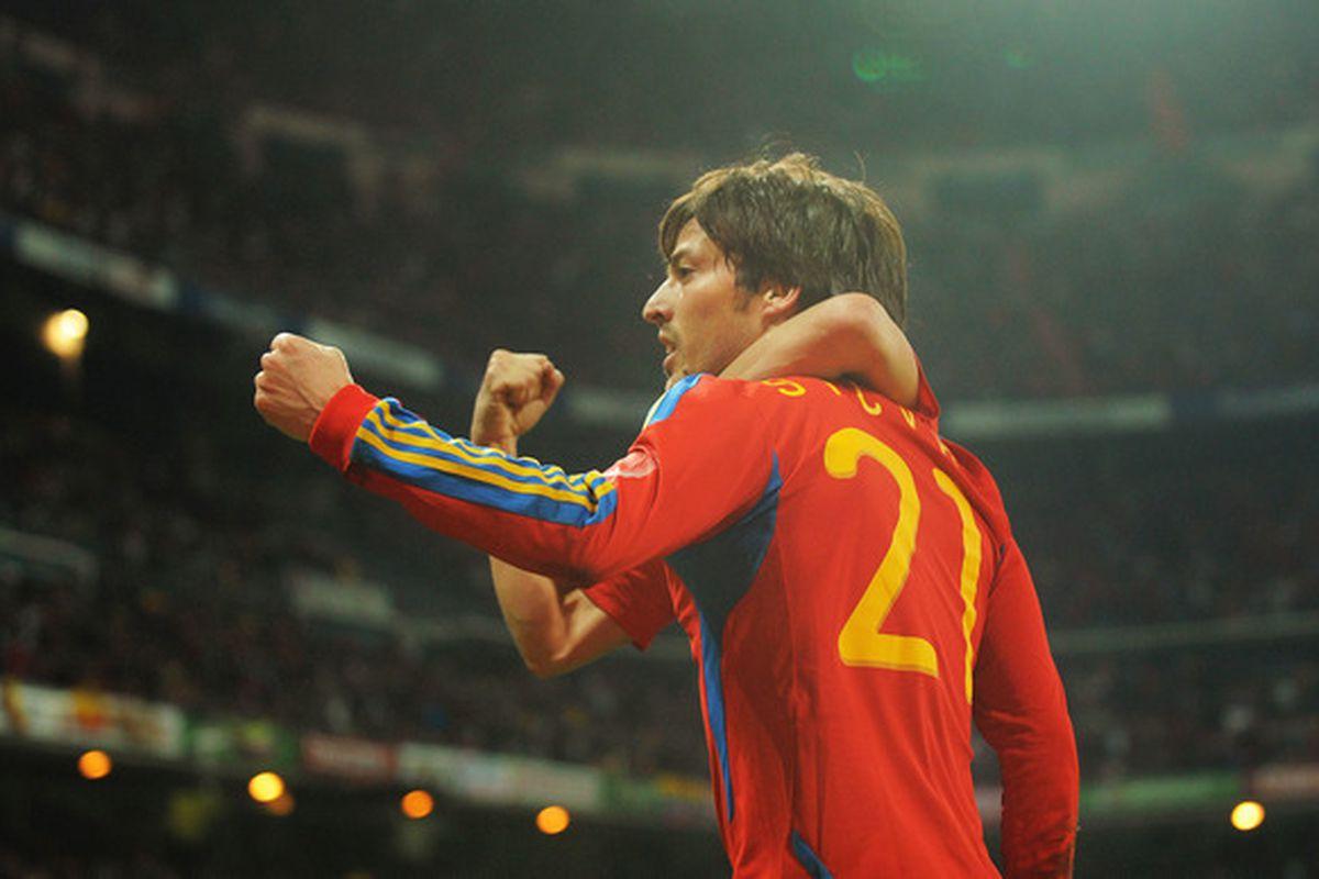 David Silva has FOUR arms. FOUR ARMS!!!! Run away now, England.
