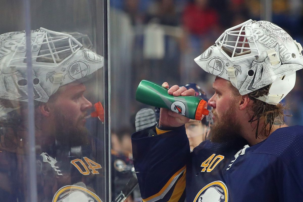 Robin Lehner Has Been Battling Bipolar Disorder For A Few Years Now Photo By Kevin Hoffman Getty Images