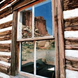 A reflection is seen at Capitol Reef National Park. There has been debate on whether recreation areas and national parks in Utah should be opened and run by the state during the federal government shutdown.