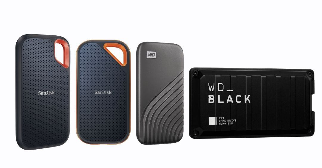 Western Digital doubles the storage in its portable SSDs to 4TB