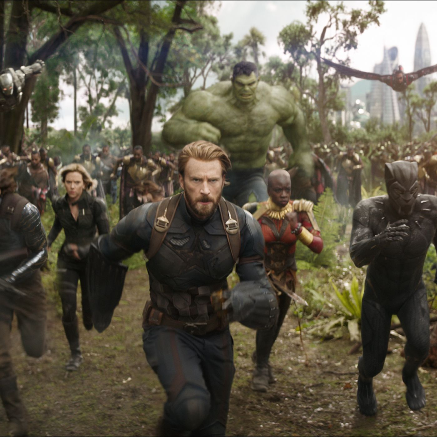 marvel's avengers: infinity war moved up to april 27th - the verge