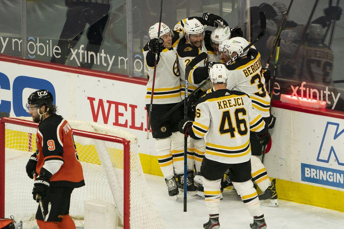 NHL: FEB 03 Bruins at Flyers