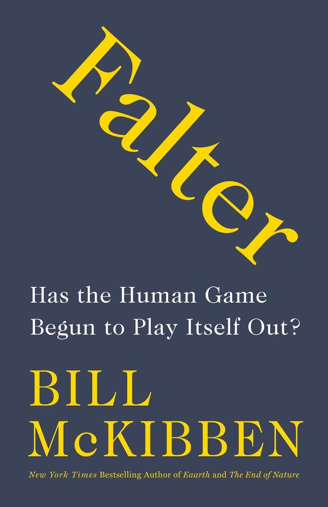 Falter book cover.