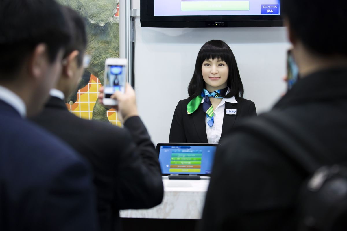 Latest Robots On Display At Robodex Trade Show