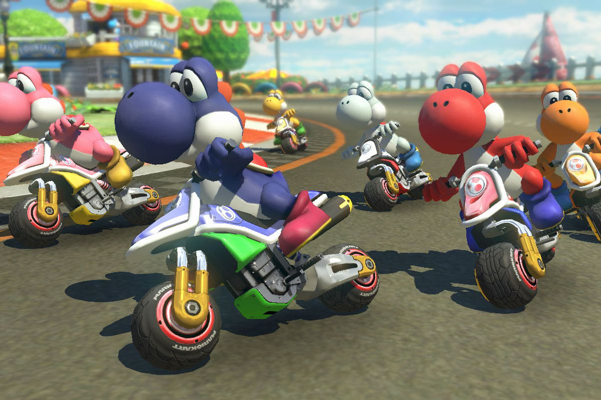 Mario Kart 8 Deluxe S Auto Accelerate Option Is Saving A Lot