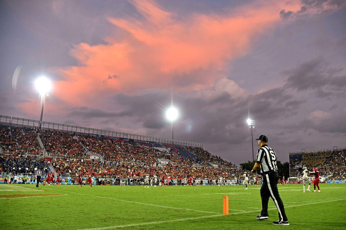 NCAA Football: Central Florida at Florida Atlantic