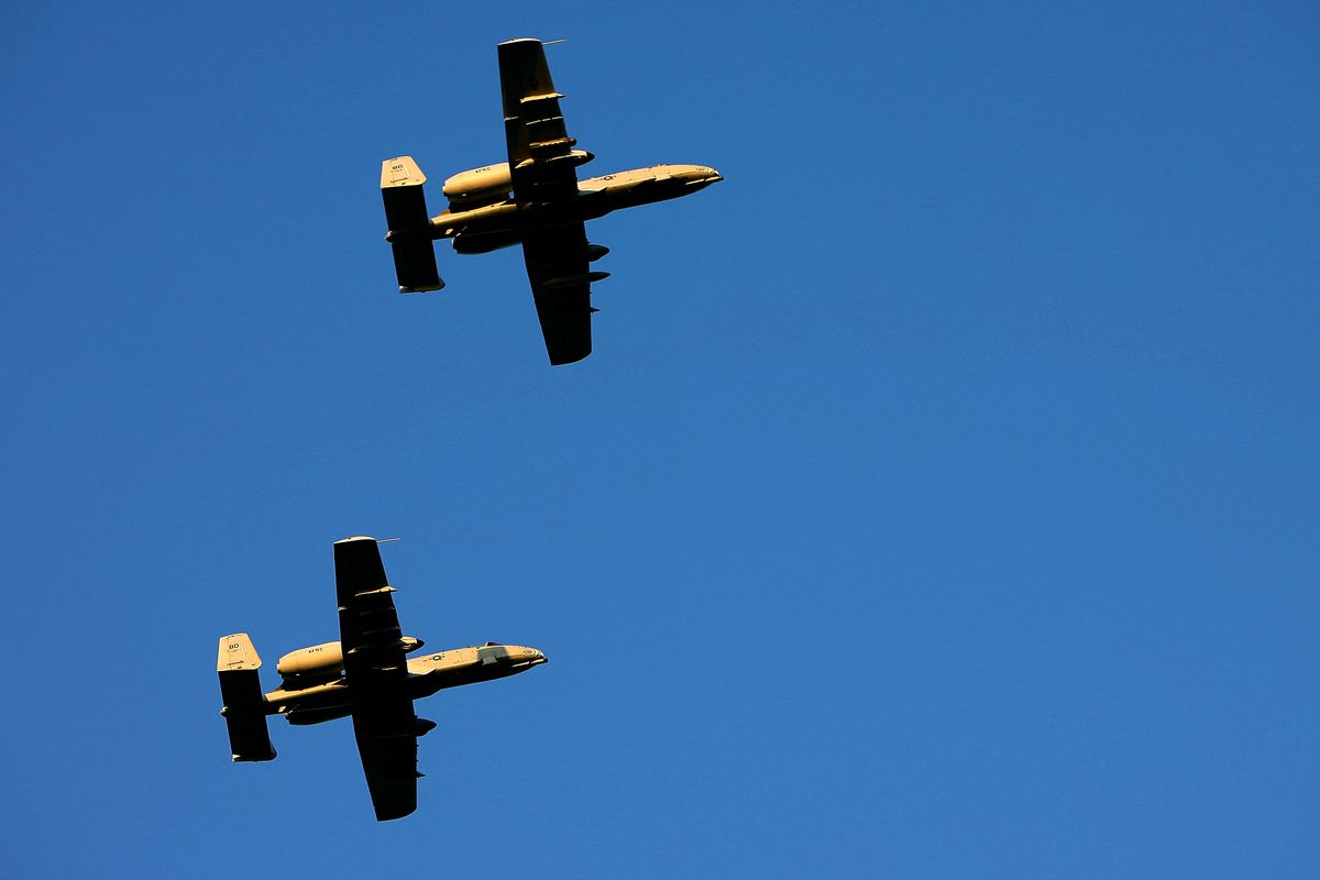This is the A-10 plane that goes BRRRT.