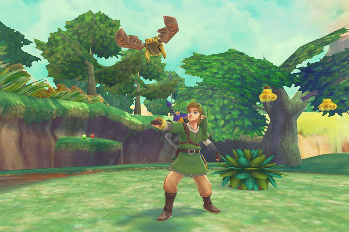 Nintendo tested HD graphics for two other Zelda games as