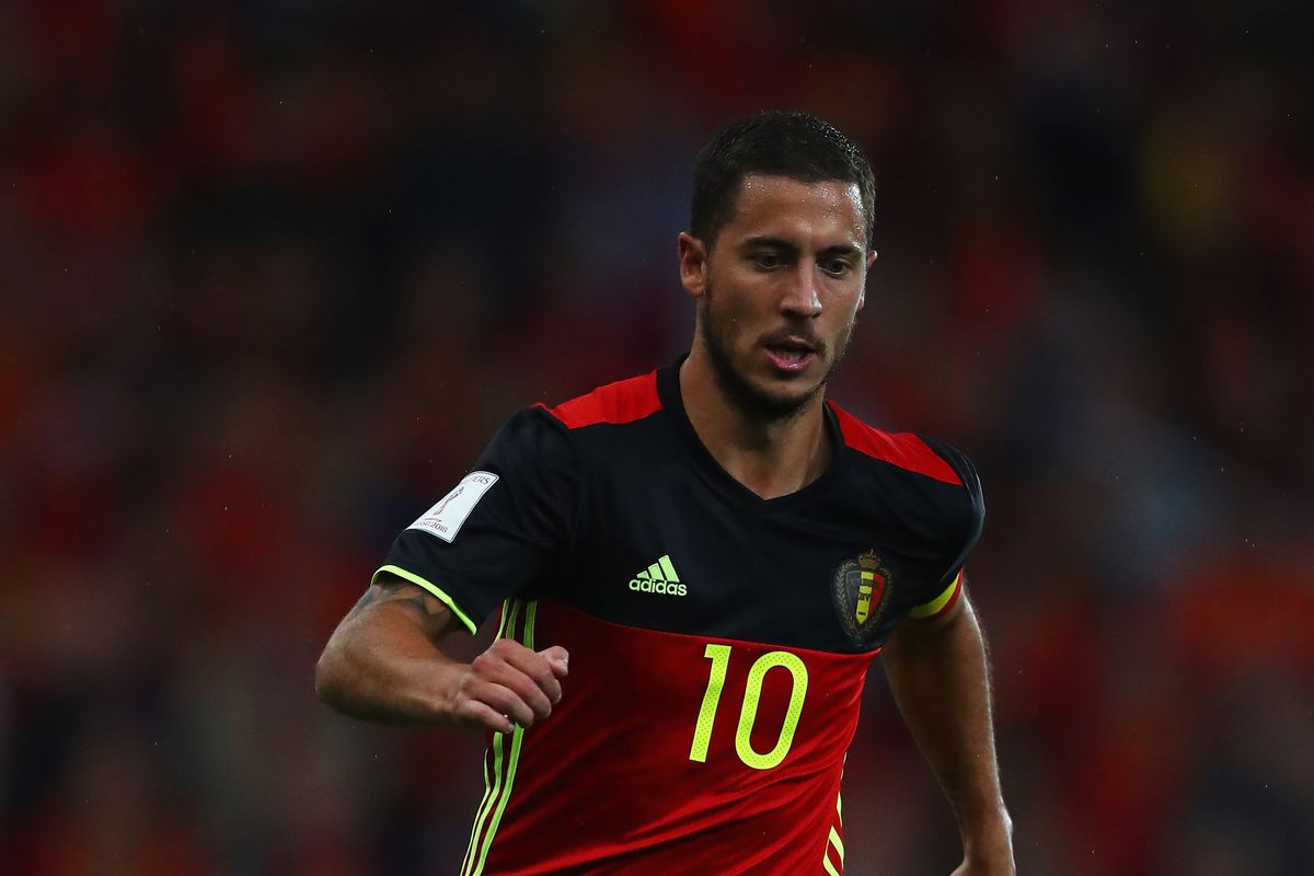 Eden Hazard scores two as Belgium complete near-perfect 2018 World Cup  qualifying campaign 62e1ea9a7