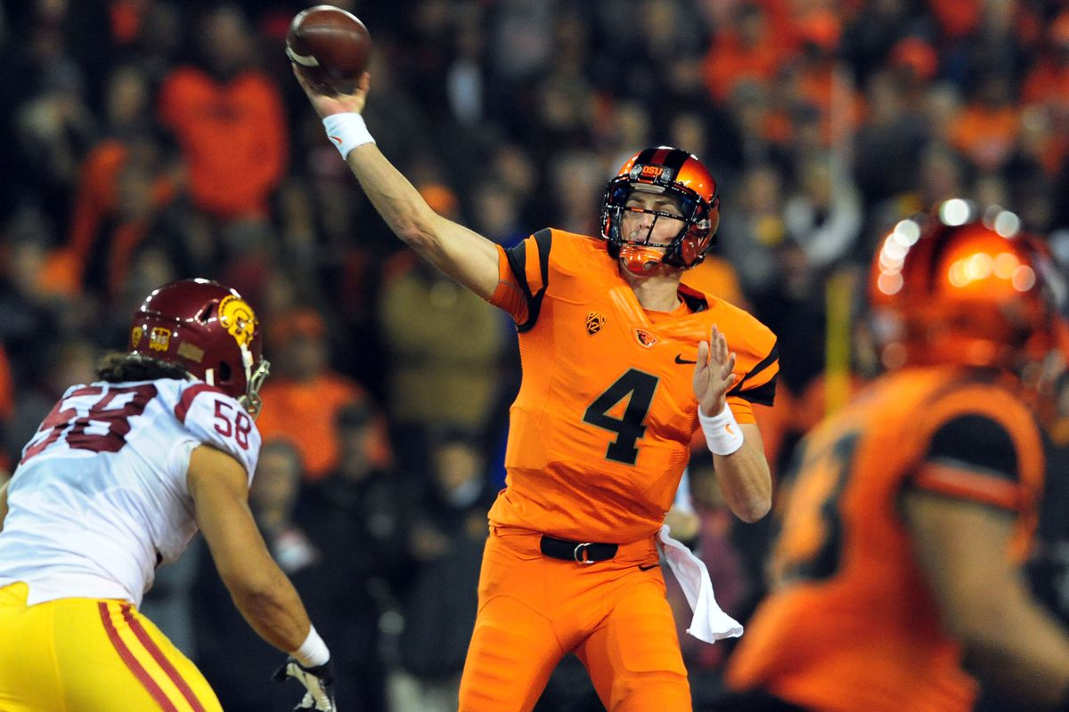 In 2013, one of Sean Mannion's worst games was against USC. He and the Beavers looks to bounce back this year.