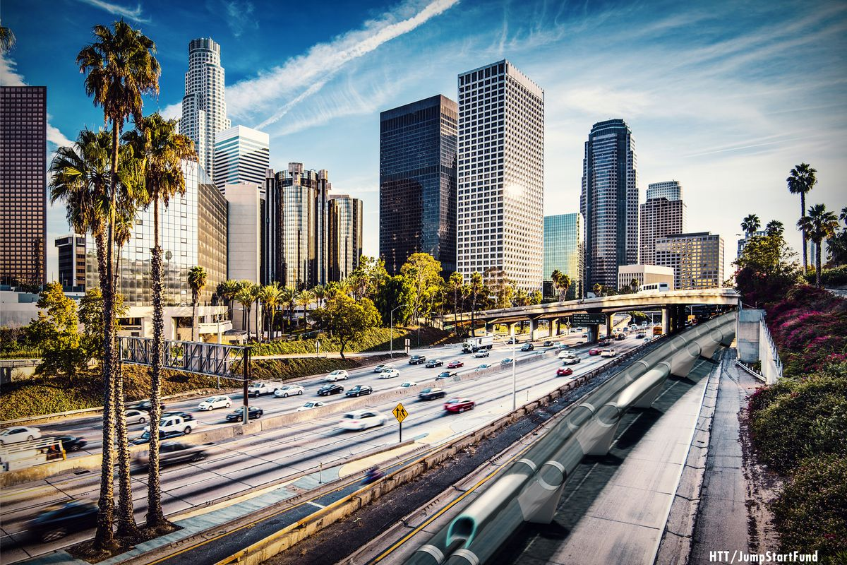 hyperloop transportation technologies one of the two los angeles based startups working to make the supersonic transportation system a reality