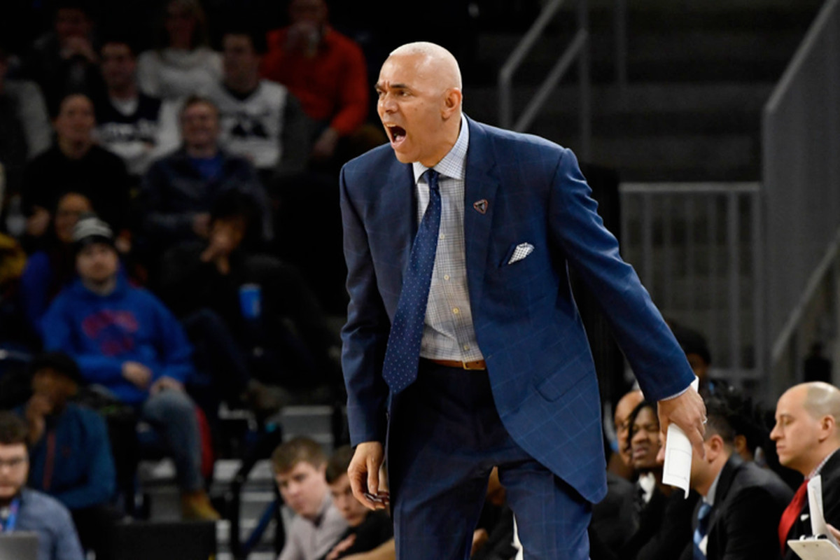 Dave Leitao and the Blue Demons are last in the Big East with a 1-9 record.