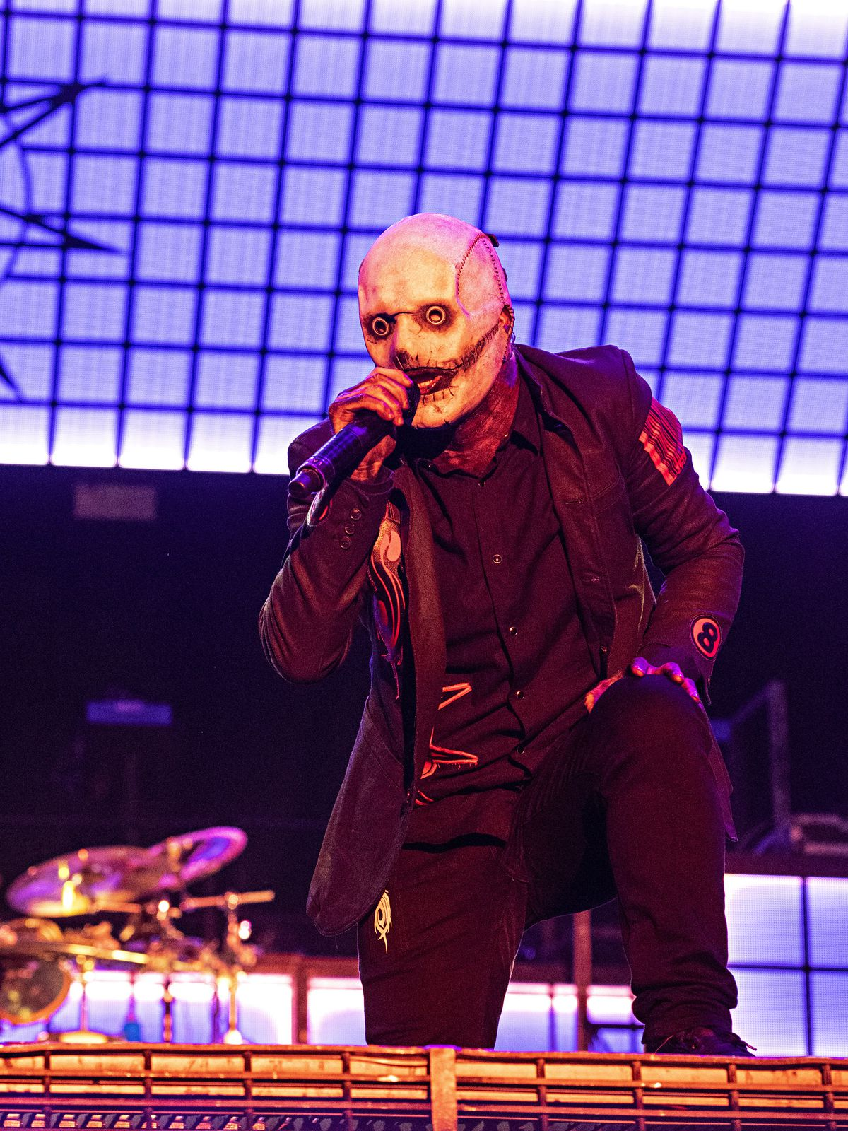 Corey Taylor of Slipknot performs at Inkcarceration Music and Tattoo Festival on Friday, Sept. 10, 2021, at the Ohio State Reformatory in Mansfield, Ohio.