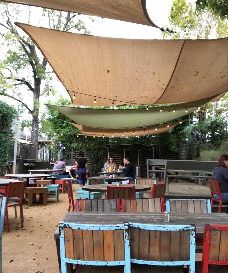 Takoba's patio