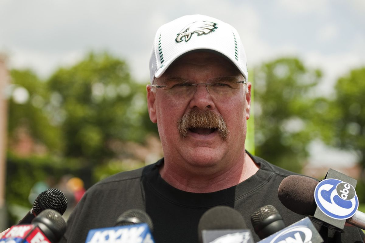 Andy Reid, you just keep your hands off Mat McBriar.