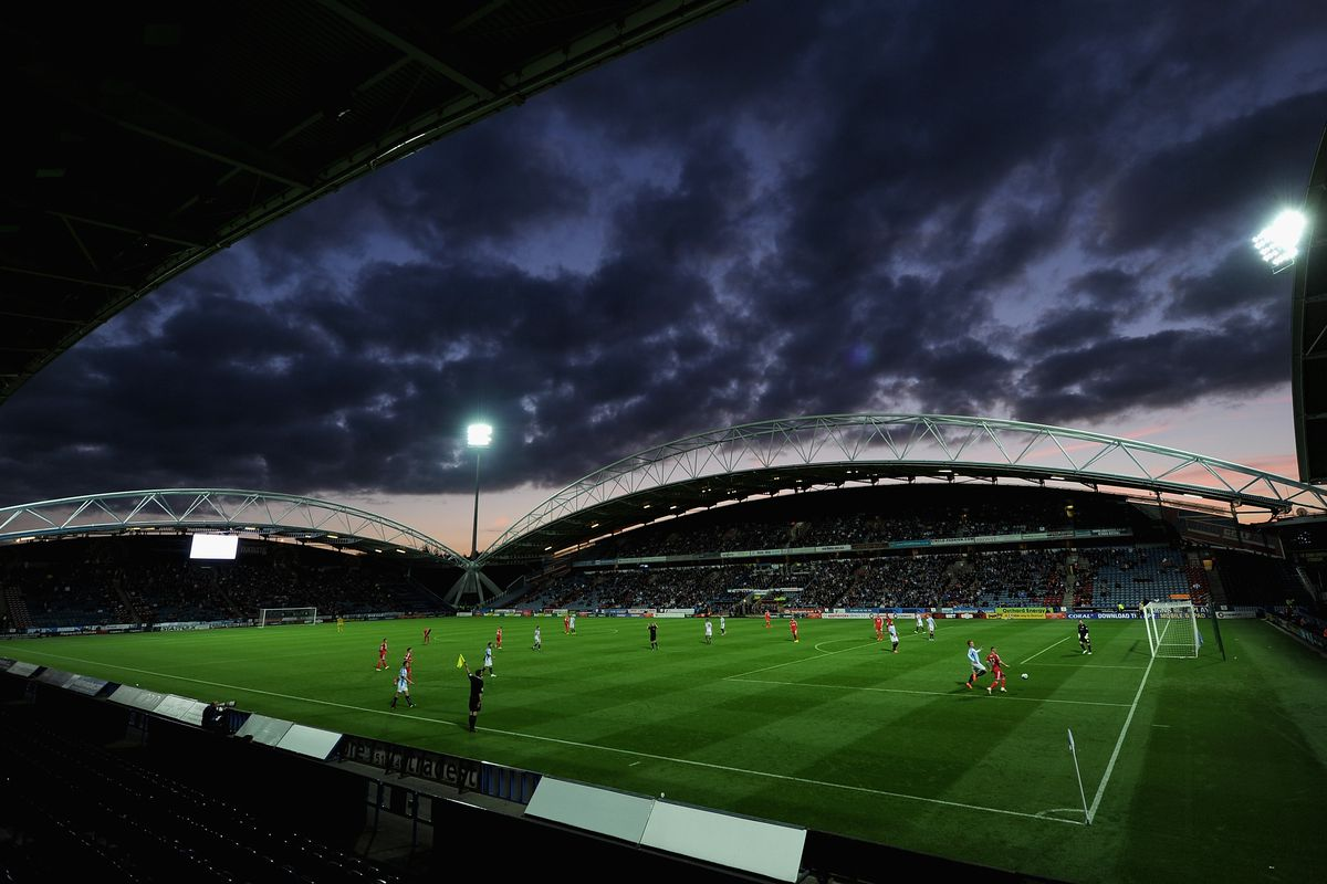 John Smith's Stadium will host Leeds and Huddersfield this Saturday in a derby match.