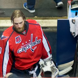 Holtby After Getting Pulled