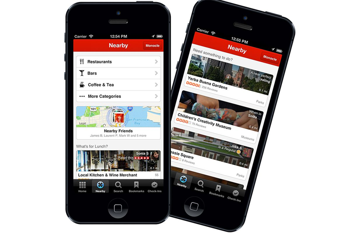 Yelp iPhone Discovery