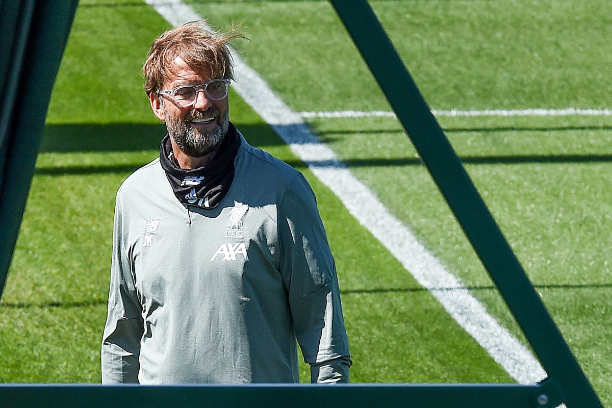 Liverpool Players Return to the Training Ground Following Covid-19 Restrictions Being Relaxed