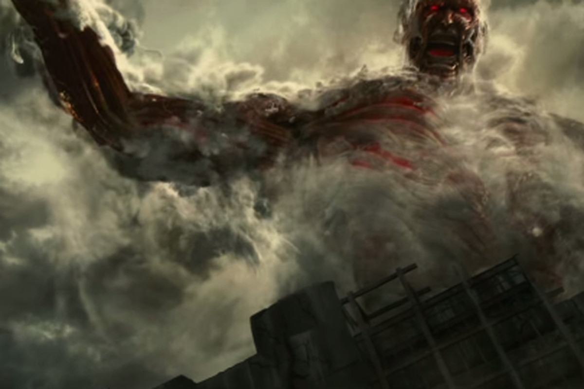 A live action attack on titan series is on the way the verge