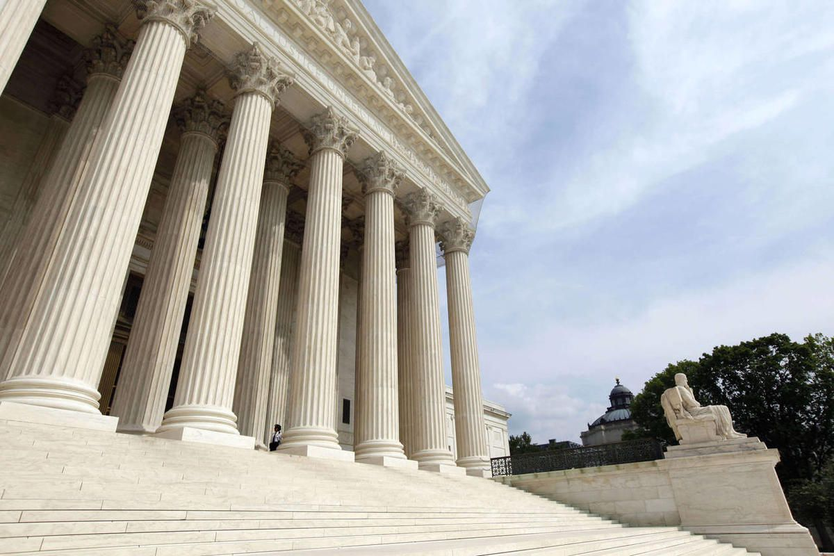 In this May 3, 2011 file photo, the Supreme Court is seen in Washington.