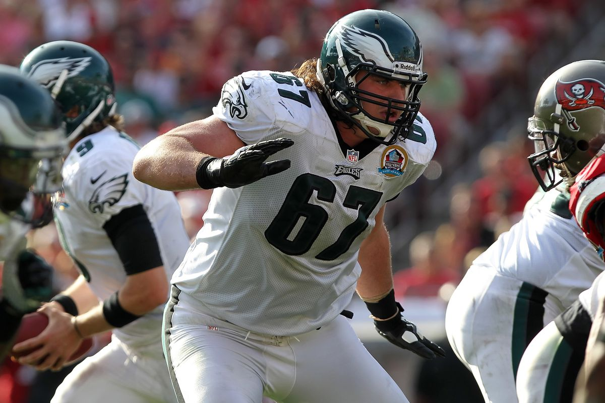 best website a8bf5 356cc Dennis Kelly injury: Eagles T sidelined for preseason after ...