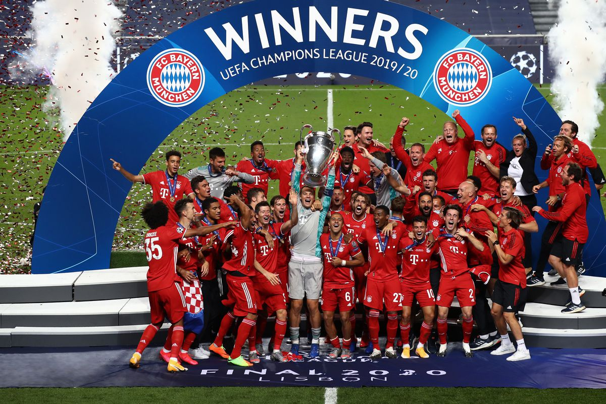 9 Bayern Munich Players Named In Champions League Team Of The Season Bavarian Football Works