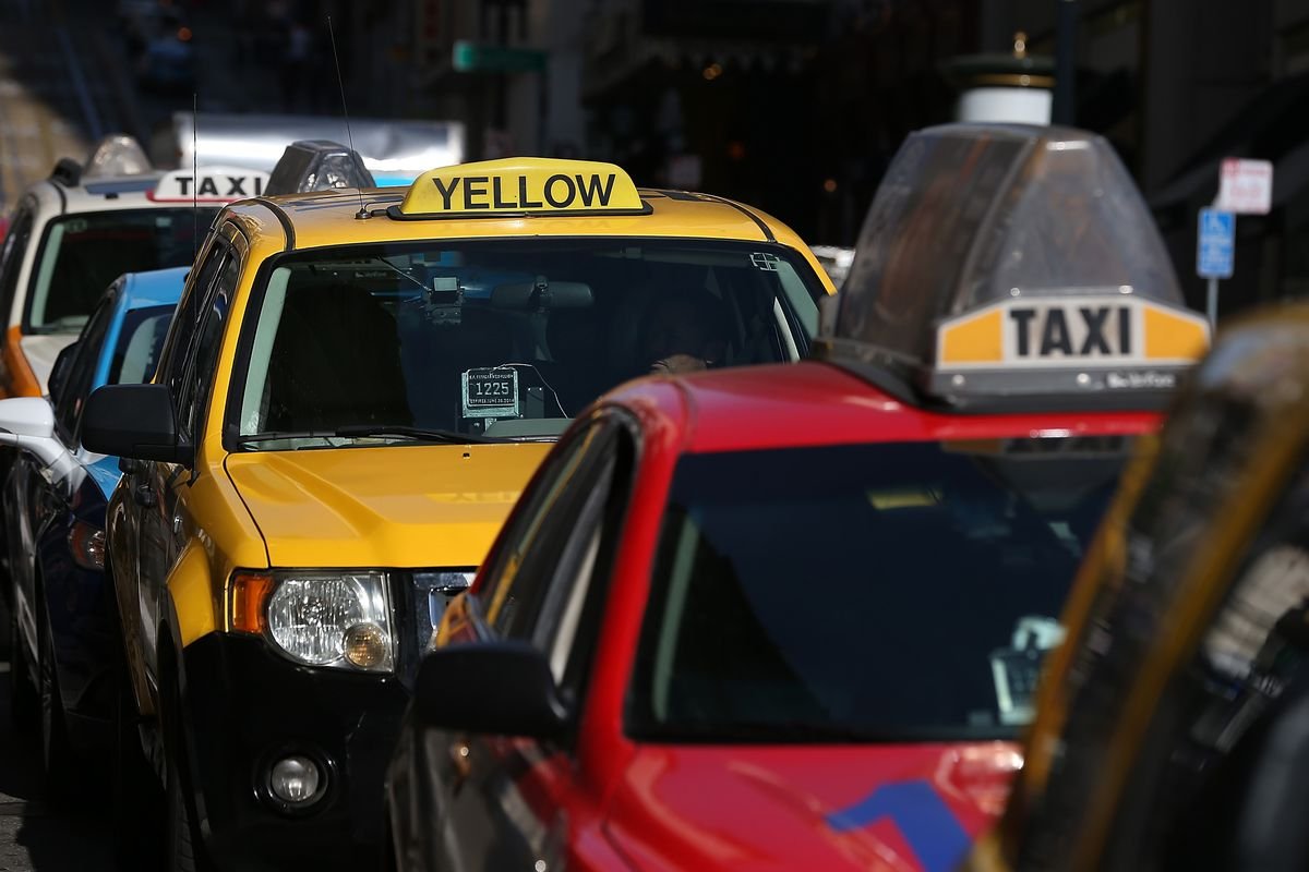 Thanks to Uber, San Francisco's largest yellow cab company is filing