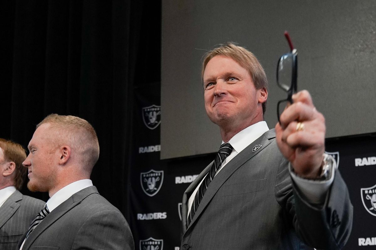 NFL: Oakland Raiders-Jon Gruden Press Conference